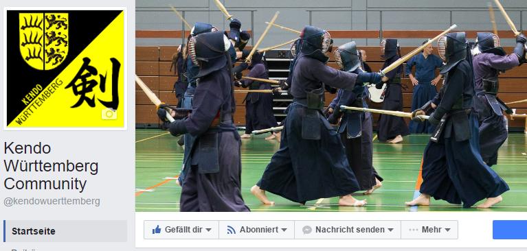 Kendo Württemberg Community auf Facebook