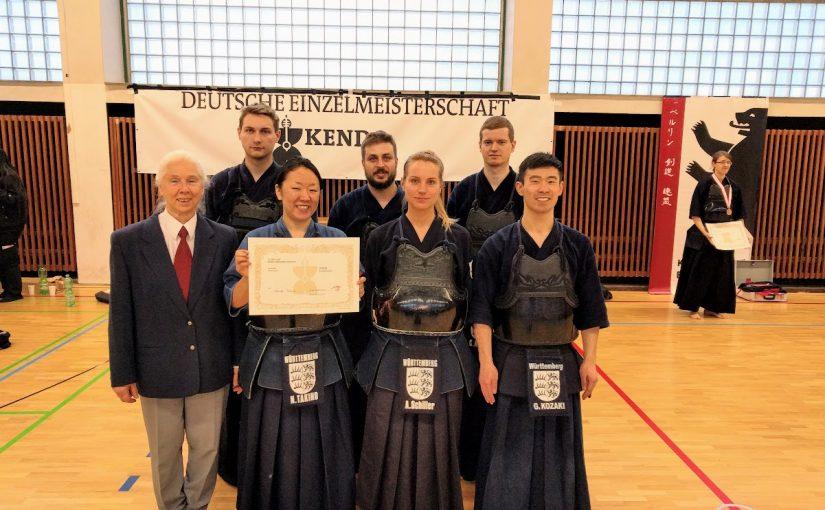 Ergebnisse Deutsche Einzelmeisterschaft 2017