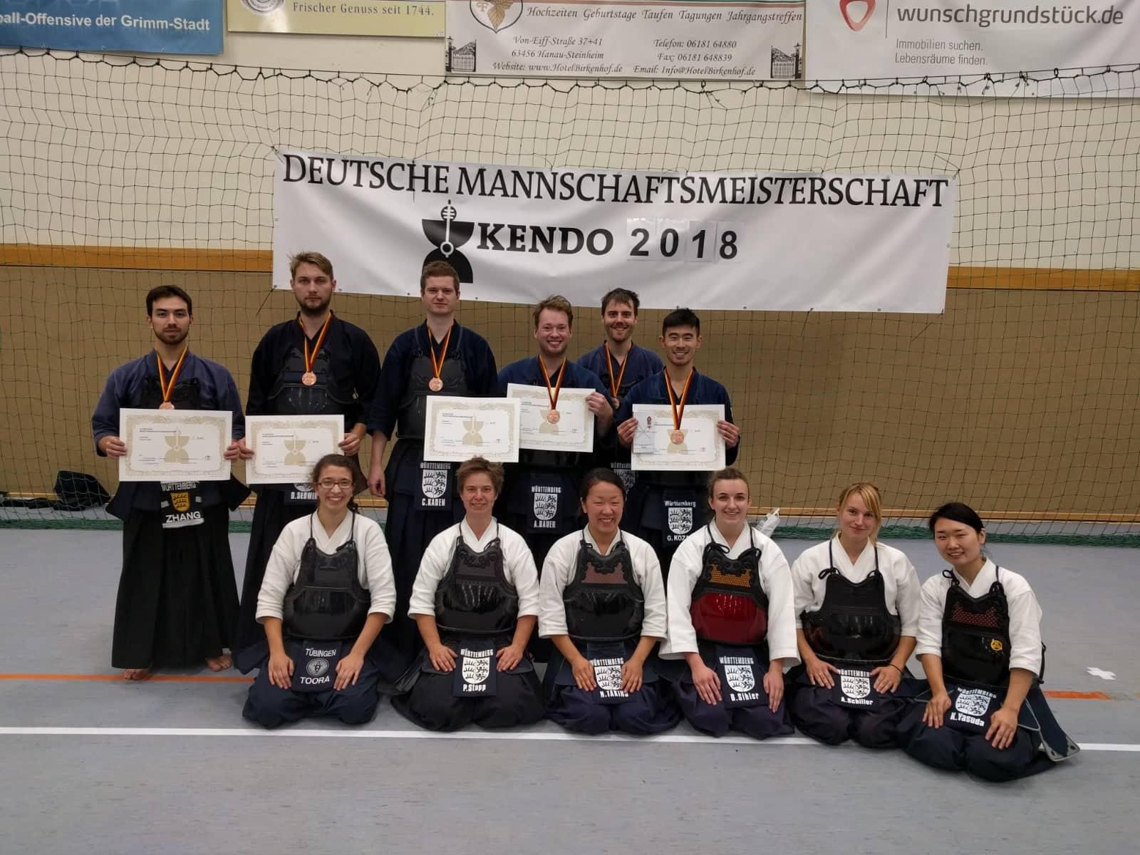 Ergebnisse der 44. Deutschen Mannschaftsmeisterschaft 2018